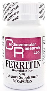 Ecological Formulas/Cardiovascular Research Ferritin