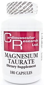 Ecological Formulas/Cardiovascular Research Magnesium Taurate 125mg