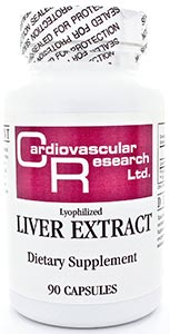 Ecological Formulas/Cardiovascular Research Liver Extract (Lyophilized 550mg)