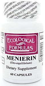 Ecological Formulas/Cardiovascular Research Menierin (OTO-Equilibrium)
