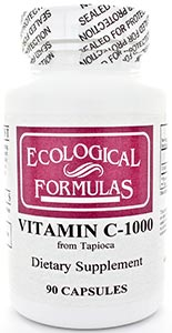 Ecological Formulas/Cardiovascular Research Vitamin C-1000 (from tapioca)