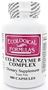 Ecological Formulas/Cardiovascular Research Co-Enzyme B Complex