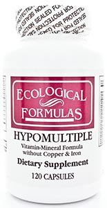 Ecological Formulas/Cardiovascular Research Hypomultiple w/o fe and cu