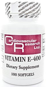 Ecological Formulas/Cardiovascular Research Vitamin E-400 (L Alpha Tocopherol Acetate)