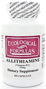 Ecological Formulas/Cardiovascular Research Allithiamine