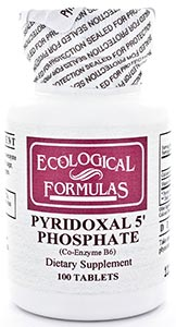 Ecological Formulas/Cardiovascular Research Pyridoxal 5' Phosphate