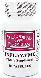 Ecological Formulas/Cardiovascular Research Inflazyme 500mg