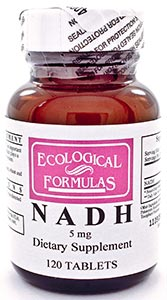 Ecological Formulas/Cardiovascular Research NADH 5mg