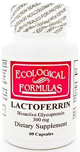 Ecological Formulas/Cardiovascular Research Lactoferrin 300mg