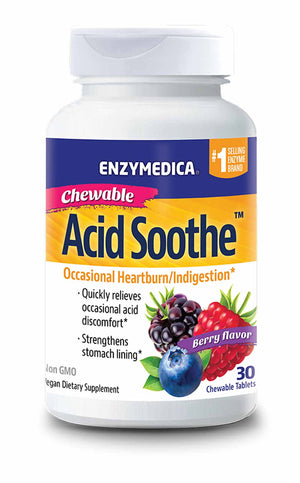 Enzymedica Chewable Acid Soothe™
