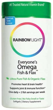 Rainbow Light Everyone's Omega Fish & Flax