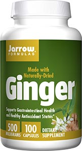Jarrow Formulas Ginger 4:1 Concentrate 500mg