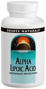 Source Naturals Alpha-Lipoic Acid Timed Release 300 mg