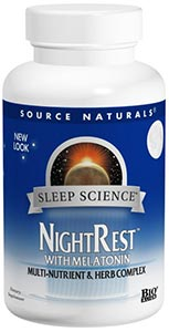 Source Naturals NightRest w/Melatonin