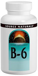 Source Naturals B-6 Timed Release 500 mg