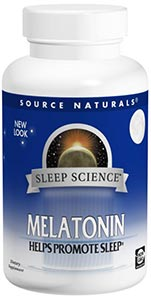 Source Naturals Melatonin Peppermint 5 mg