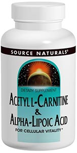 Source Naturals Acetyl L-Carnitine & Alpha Lip. Acid