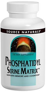 Source Naturals Phosphatidyl Serine Matrix 500 mg