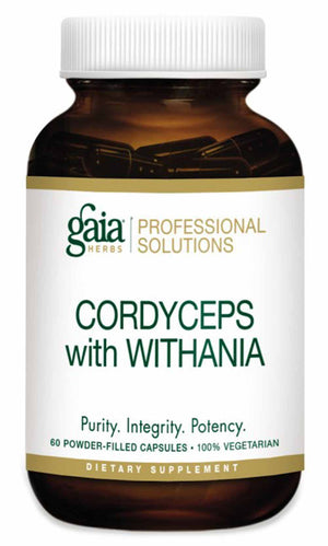 Gaia Herbs Professional Solutions Cordyceps with Withania