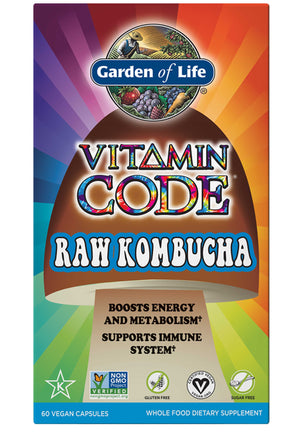 Garden of Life Vitamin Code RAW Kombucha