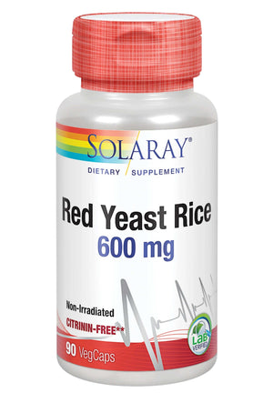 Solaray Red Yeast Rice 600