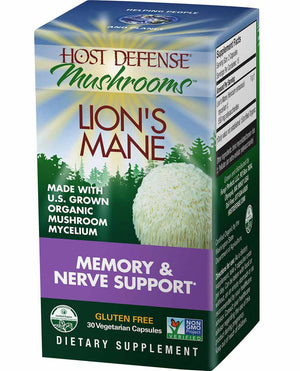 Host Defense Lion's Mane Capsules