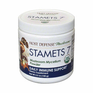 Host Defense Stamets 7® Mushroom Mycelium Powder