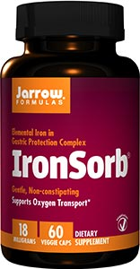Jarrow Formulas IronSorb 18mg
