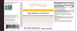 Integrative Therapeutics Bilberry Extract