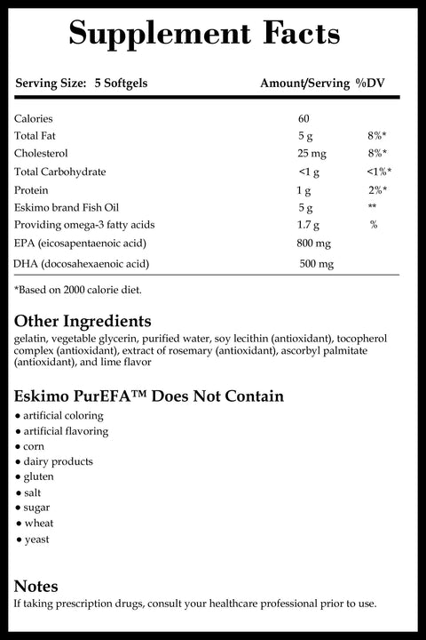 Integrative Therapeutics Eskimo PurEFA