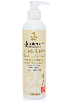 Jadience Herbal Formulas Muscle and Joint Massage Cream