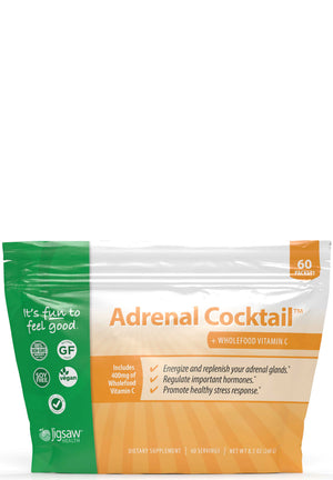 Jigsaw Health Adrenal Cocktail+Wholefood Vitamin C Packets