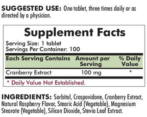 Kirkman Super Cranberry Extract Chewables