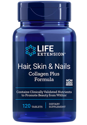 Life Extension Hair, Skin & Nails Rejuvenation Formula with VERISOL