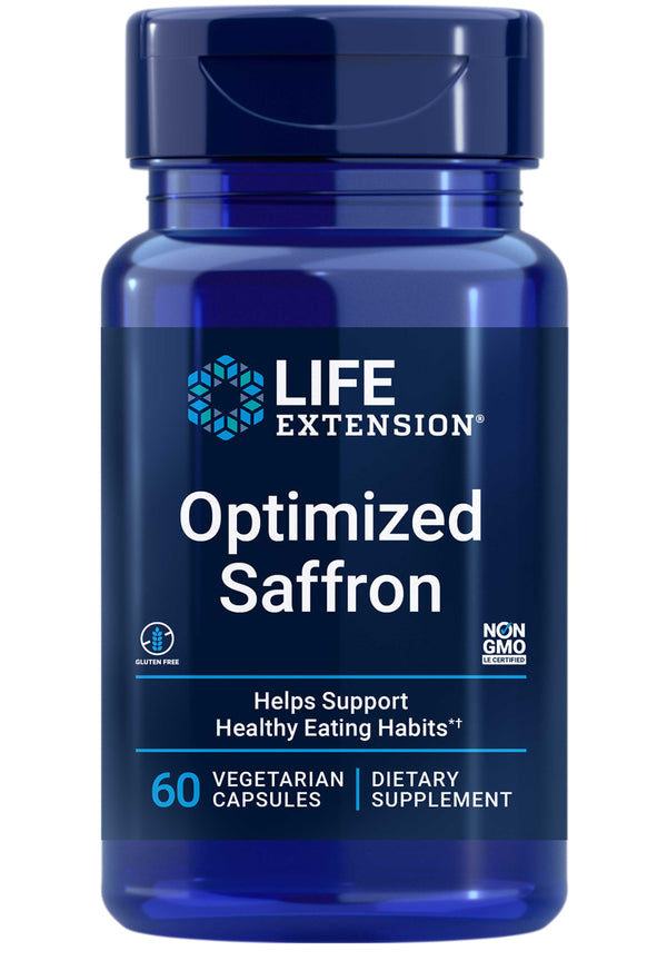 Life Extension Optimized Saffron with Satiereal