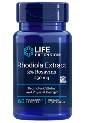 Life Extension Rhodiola Extract (3% Rosavins)
