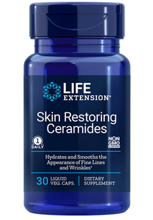 Life Extension Skin Restoring Phytoceramides with Lipowheat