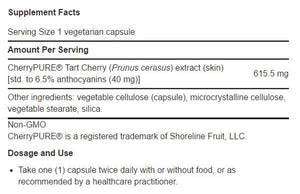 Life Extension Tart Cherry Extract