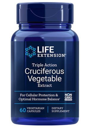 Life Extension Triple Action Cruciferous Vegetable Extract