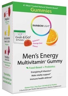 Rainbow Light Men's Energy Multivitamin Gummy