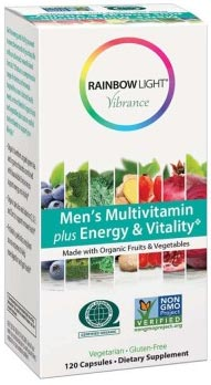 Rainbow Light Vibrance Men's Multivitamin Plus Energy & Vitality