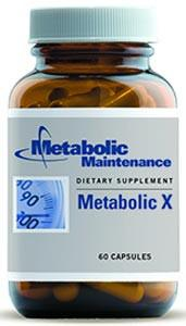 Metabolic Maintenance Metabolic X