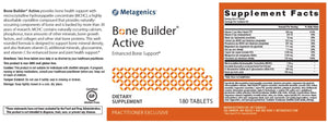 Metagenics Bone Builder Active