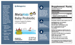 Metagenics MetaKids Baby Probiotic