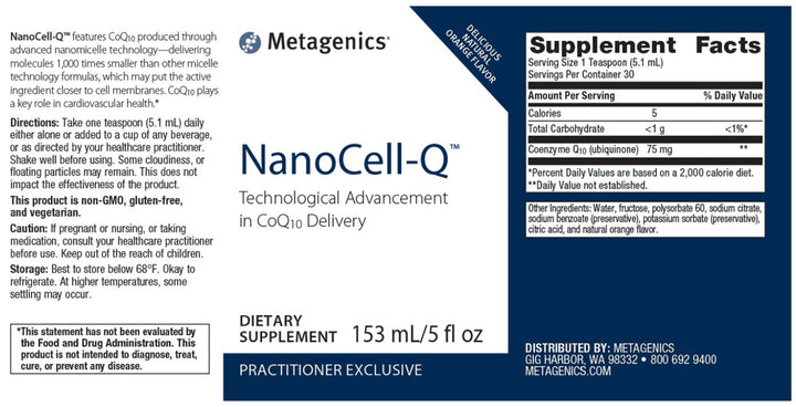 Metagenics NanoCell-Q