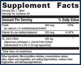 Metagenics St. John's Wort with Folate and B12 Ingredients