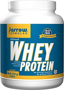 Jarrow Formulas Whey Protein, Unflavored 454gm