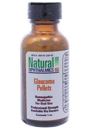 Natural Ophthalmics Glaucoma Pellets