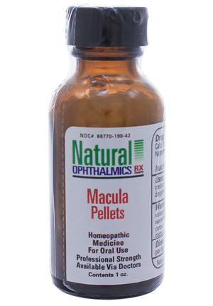 Natural Ophthalmics Macula Pellets