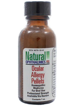 Natural Ophthalmics Ocular Allergy Pellets